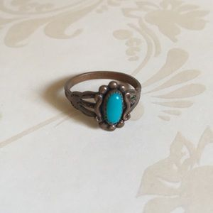 Jewelry - Copper turquoise ring